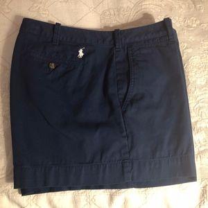 Ralph Lauren Polo Shorts Navy - Size 14